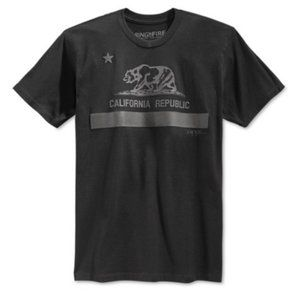 NWT Men's Ring Of Fire California Tee